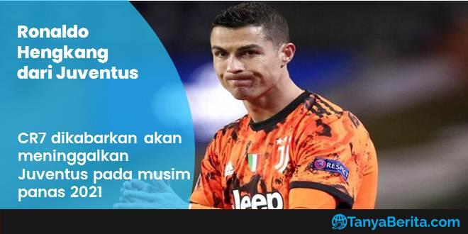 Cristiano Ronaldo Ingin Pergi dari Juventus