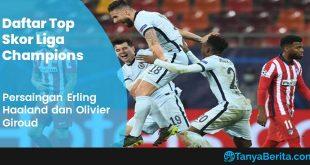 Daftar Top Skor Liga Champions