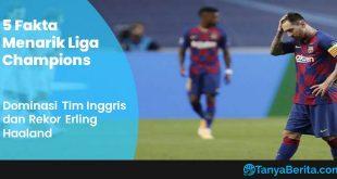 Fakta Menarik Leg I 16 Besar Liga Champions