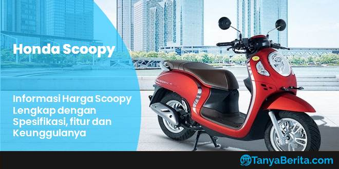 Harga Scoopy eSP Terbaru