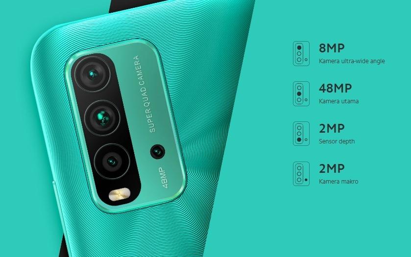 Kamera Redmi 9T