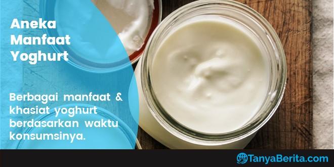 Khasiat dan Manfaat Mengonsumsi Yoghurt Berdasarkan Waktunya
