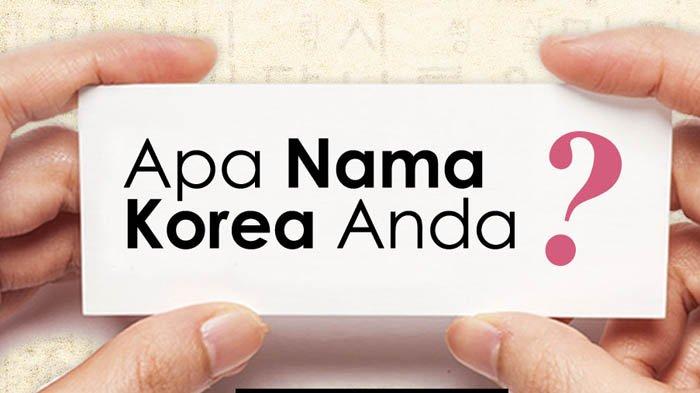 Nama Korea Berdasarkan Tanggal Lahir