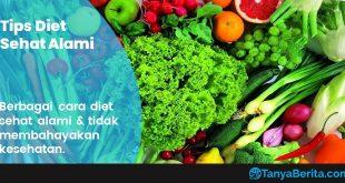 Cara Diet Sehat Alami yang Baik dan Tidak Membahayakan Kesehatan Tubuh
