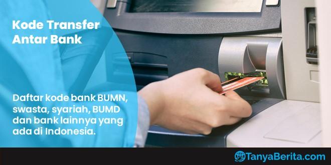 Daftar Kode Bank di Indonesia Lengkap