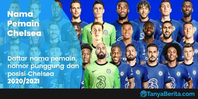Daftar Nama Pemain Chelsea Terbaru