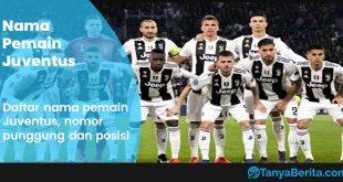Daftar Nama Pemain Juventus Terbaru