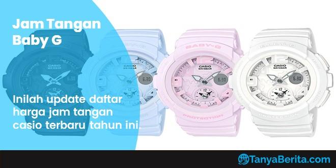 Harga Jam Tangan Baby G Terbaru