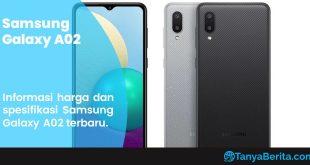 Harga Samsung Galaxy A02 Baru dan Bekas