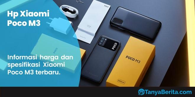 Harga Xiaomi Poco M3 Baru dan Bekas Terkini